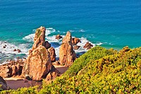Coast of Portugal, Cabo da Roca - the most western point of Europe