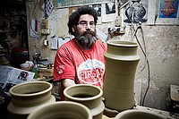 Workshop of Antonio Campos,Pottery  Alfarería, 22  Triana quarter,Sevilla,Spain
