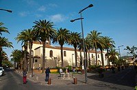 Plaza de la Conception square San Cristobal de La Laguna city Tenerife the Canary Islands Spain Europe