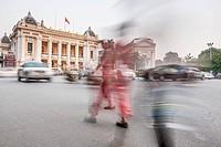 Hanoi Opera House, Hanoi, Vietnam, Indochina, Southeast Asia, Asia