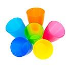 Plastic color tumbler