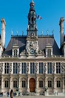 Paris's Hotel De Ville, France