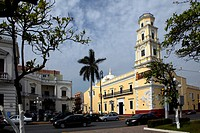 Mexico, Veracruz city, old lighthouse Benito Juarez