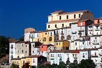 Italy, Campania, Calitri town