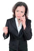 tense phone call