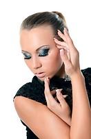 Portrait of girl - Creative make-up