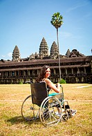 Wheelchair Travel at Angkor Wat