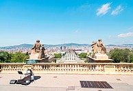 View on Espanya Square
