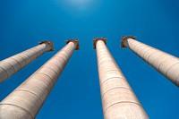 Columns at Plaza de Espana