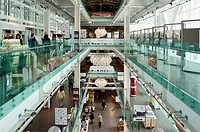Eataly, Rome. Italian Food Emporium and Restaurants. The Former Terminal of Ostiense. Rome, Italy