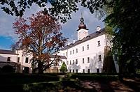 Czech republic, Orlicke hory,castle in Letohrad,