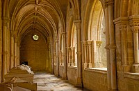 Cloister, archway, Cathedral Se, Evora, Alentejo, Portugal