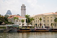 Asian Civilisation Museum at the Singapore River, Singapore, Southeast Asia, Asia