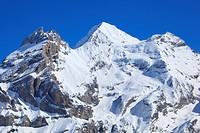 Alps, Alpine, panorama, view, mountain, mountains, massif, Bern, Bernese Alps, Bernese Oberland, Blüemlisalp Rothorn, Blüemlisalphorn, ice, rock, moun...