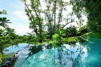 Comprising a six-star hotel, villas and a centrepiece garden courtyard, the Capella Resort on Sentosa Island aims to achieve a s