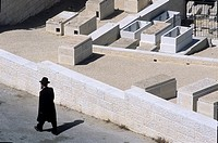 jew cemetery in jerusalem