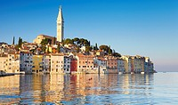 Croatia - Rovinj, view from the sea, Istria, Croatia