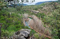 Canyons of the River Tajo. Alto Tajo Natural Park, Guadalajara, Spain