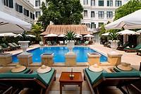 metropol hotel in hanoi. vietnam