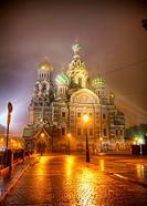Savior on Blood Cathedral in St. Petersburg