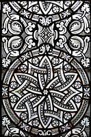 Decoration on the Holy Trinity Column in Heiligenkreuz Abbey