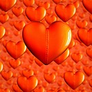 Beld Hearts for Valentines Day Background