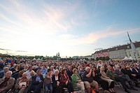 Feast of joy at the heldenplatz in Vienna, Vienna Symphony Orchestra