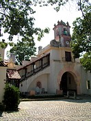 Centerport, NY, New York, Long Island, Vanderbilt Museum, Spanish style mansion