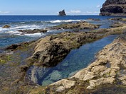 Spain, Playa de Iguala at La Gomera in Canary Islands