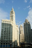 Wrigley Building south tower.