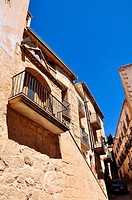 Historic center, Calaceite, XVIII century architecture, Teruel, Aragon Community, Spain