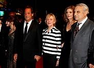 Carlo Verdone, Paolo Sorrentino, actors Pamela Villoresi, Iaia Forte, Toni Servillo, Isabella Ferrari, Giusi Merli, Galatea Ranzi - Cannes/France/Fran...