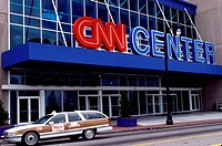 CNN, Atlanta, GA, Georgia, CNN Studio at One CNN Center in downtown Atlanta.