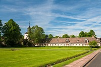 Former monastery of Corvey, Hoexter, North Rhine-Westphalia, Germany, Europe