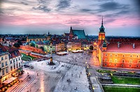 Royal Castle in Warsaw, Poland.