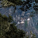 Bhutan, View of Tiger Nest temple at Paro