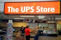 Nevada, Las Vegas, The Strip, South Las Vegas Boulevard, Flamingo Las Vegas Hotel and Casino, The UPS Store, shipping, packaging, delivery service.