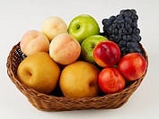 various fruits in basket