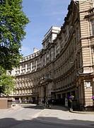 Buildings at Finsbury Circus London.