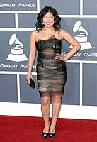 Jenna Ushkowitz - Los Angeles/California/United States - 53RD ANNUAL GRAMMY AWARDS
