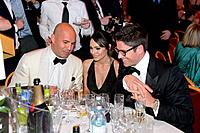 Billy ZANE, Candice NEIL, James SCOTT beim 3. Orange Filmball Viennball und der Verleihung der Vienna Film Awards 2012 im Wiener Rathaus am 16.03.2012...
