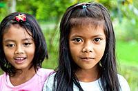 Little Balinese Girls, Bali, Indonesia.