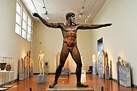 Cape Artemisium God, Zeus or Poseidon, 460 BC, National Archaeological Museum, Athens, Greece