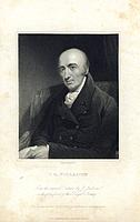 William Hyde Wollaston, English chemist and physicist, early 19th century(?). Wollaston (1766-1828) discovered two chemical elements, palladium and rh...