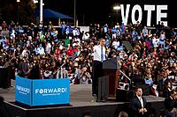 President Barack Obama at Presidential Campaign Rally, October 24, 2012, Doolittle Park, Las Vegas, Nevada