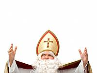 Man dressed as St. Nicholas