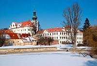 Czech Republic, Prague, Brevnovsky klaster,Brevnov monastery,
