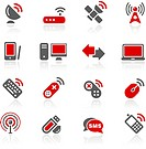 Wireless & Communications Icons // Redico Series
