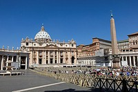 St. Peter's Basilica is a Late Renaissance church located within Vatican City. It is the most renowned work of Renaissance architecture and remains on...
