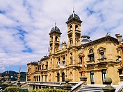 City Hall in Donostia - San Sebastian, Basque Country, Spain.